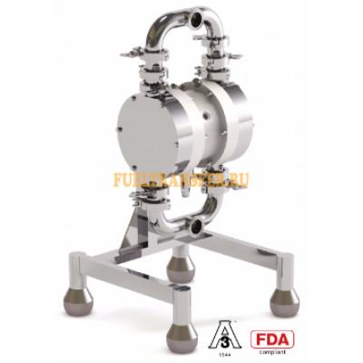 Пневматический мембранный насос SANIBOXER 100 (гигиеническая серия)