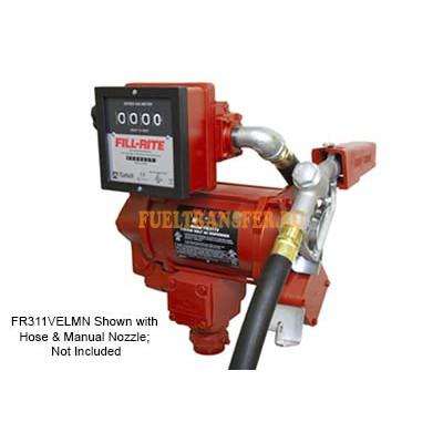 Комплект для перекачки бензина с счетчиком FR 311 VELMN