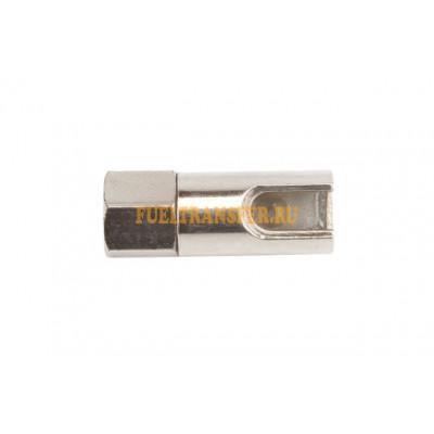 Гидравлическая насадка на шприц с отверстием под углом 90 HC/R/01/B