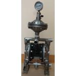 Мембранный насос из нержавеющей стали с демпфером пульсации MK 15PP SS/ST/ST/SS