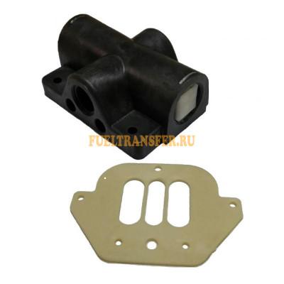 Ремкомплект пневмодвигателя из полипропилена насоса JOFEE MK25/40/50