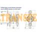 Мембранный пневматический насос JOFEE MK80PP-PP/ST/ST/PP