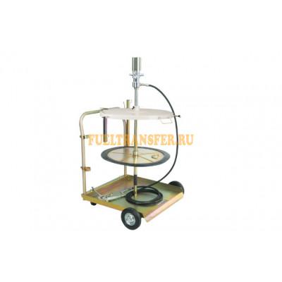 Пневматический нагнетатель смазки LubeWorks (бочка 180-200 кг)