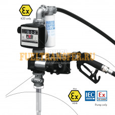Бочковой комплект для перекачки бензина DRUM EX50 K33 12V