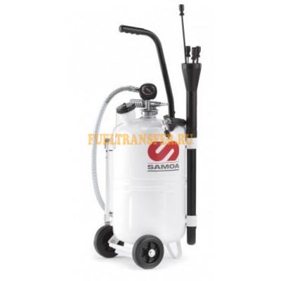 Пневматическая установка для откачки отработанного масла 24 л