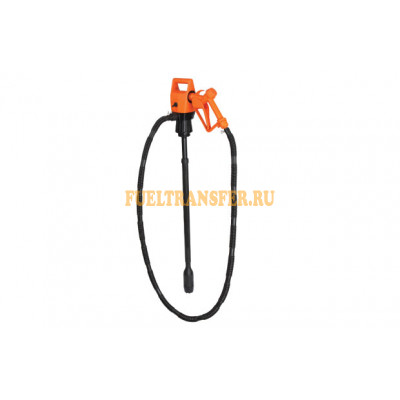Электрический насос для бочек и еврокубов ZKIT/EDR/55T 12 V