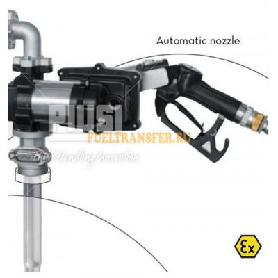 Бочковой комплект для перекачки бензина Drum EX50 12V AUTO