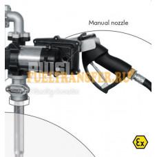 Бочковой комплект для перекачки бензина Drum EX50 12V