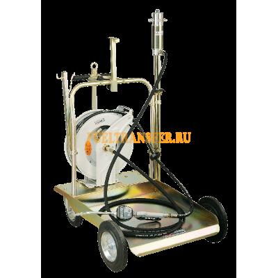 Пневматический маслораздаточный комплект 5:1с катушкой LubeWorks
