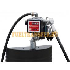 Бочковой комплект для перекачки дизельного топлива DRUM BI-PUMP 12V K33