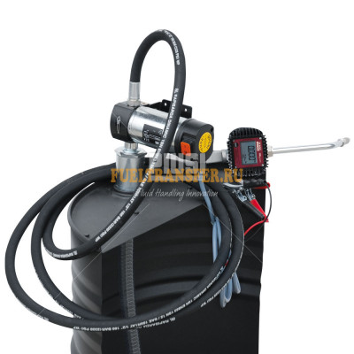 Бочковой комплект для перекачки масла DRUM Viscomat 200/2 K400