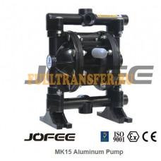 Мембранный пневматический насос JOFEE MK15PP- AL/HY/TF/SS