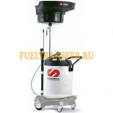 Мобильная установка для слива отработанного масла 100л 372500