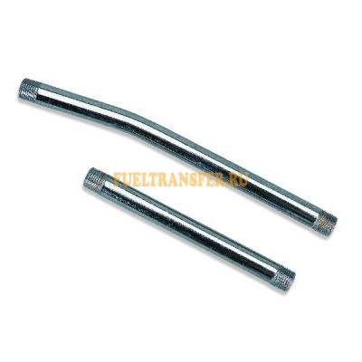 Трубка стальная изогнутая, 150мм GBP/6/B