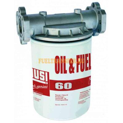 Фильтр тонкой очистки от механических примесей 10 микрон до 60 л/мин