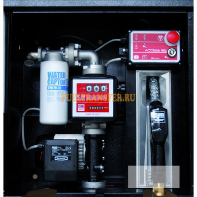 Минизаправка для отпуска дизельного топлива ST BOX Panther 72 Pro